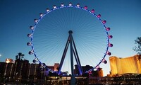 Zipline and Observation Wheel Tickets at The High Roller at the LINQ (Up to 28% Off). Four Options Available.