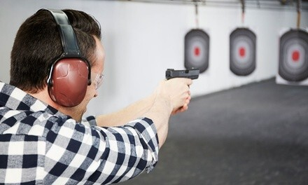 Range Package for Up to Two People without or with Ammo at Superior Pawn & Gun (Up to 64% Off)