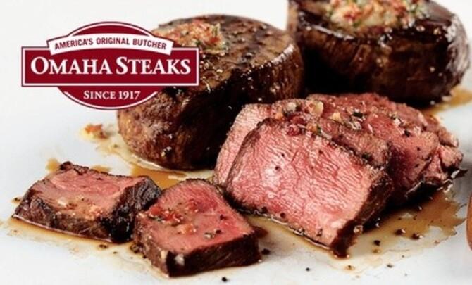 Deal for Omaha Steaks