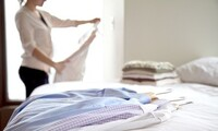 Dry-Cleaning Services at Ambassador Dry Cleaning and Laundry (Up to 50% Off). Two options available.