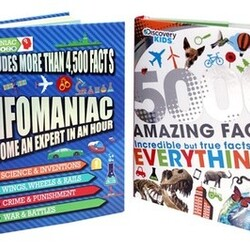 Discovery Kids and Infomaniac Kids' Fact Books