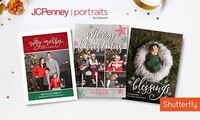 "Professional Photo Session with 5""x7"" Holiday Cards at JCPenney Portraits by Lifetouch (Up to 76% Off)"