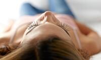 One Eyelash Perm or One Eyelash Tint and Eyebrow Wax at Levics Salon (Up to 58% Off)