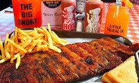 $42 for Dinner for Two with Pork Ribs, Sides, Dessert, and Beer or Wine at Market Bar-B-Que ($77.60 Value)