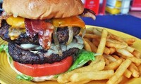 $10 for $20 Worth of Unique Burgers and More at Hamburger Mary's