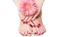 One Gel Manicure or Set of Acrylic Nails at Lather and Rinse Salon (Up to 46% Off)
