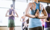 Five Drop-In Classes or One Month of Unlimited Yoga or Fitness Classes at Flow Yoga Studio (Up to 78% Off)