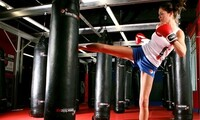 One Month Unlimited Kickboxing or Martial Arts Classes at KnuckleUp Fitness (Up to 78% Off)