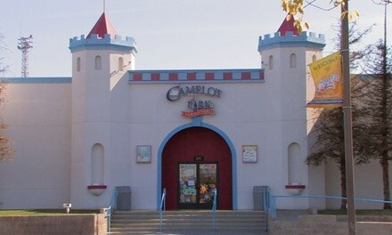 Family Fun Tickets with Mini Golf and Bumper Boat Rides for One or Two at Camelot Park (Up to 53% Off)