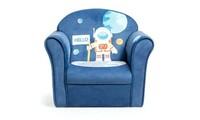 Kids Cat/Astronaut/Lion/Crocodile/Elephant Sofa Children Armrest Toddler Gift