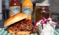 Pulled-Pork, Coleslaw, and Beer for One, Two, or Four at The Boar's Nest (Up to 48% Off)