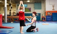 Children's Gymnastics Classes at Gymnastics Unlimited (Up to 50% Off). Three Options Available.