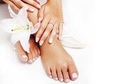 Regular or Gel Manicure and Pedicure at Hobokin Styles (Up to 44% Off). Three Options Available.