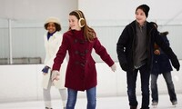 Ice Skating and Skate Rentals for Two or Fourat Palisades Center Ice Rink (Up to 52% Off)