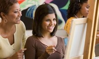 Adult or Kids Paint Event for One or Two, or Four at Shades of Color Paint (Up to 47% Off)