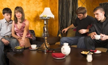 $25 or $50 Worth of Tea and Hookah for Two or Four at Zaytouna Lounge (Up to 52% Off)