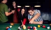 Two Hours of Billiards for Four People with Optional Pizza and Chicken Tenders at Stix & Stones (Up to 58% Off)