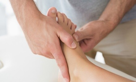 Two 60-Minute Foot Reflexology Massages at Aroma Massage Spa (Up to 61% Off)
