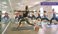 Five or Ten Hot-Yoga Classes at Synergy Hot Yoga (Up to 52% Off)