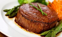 Steak-House Cuisine for Two or Four at Macleay Country Inn (48% Off)