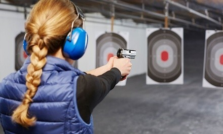 $35 for Shooting-Range Package for One at The Range ($67 Value)