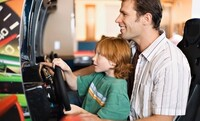 Two or Four 90-Minute PlayCards for Video Games and Kiddie Rides at Treasure Island Fun Center (Up to 44% Off)