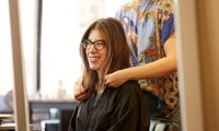 Haircut, Root Touch-Up, Blow-Dry, Conditioning at Salon Vanity (Up to 65% Off). Two Options Available.