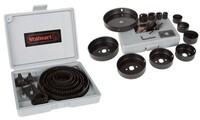 Hole Saw Kit and Storage Case (16-Piece Set)