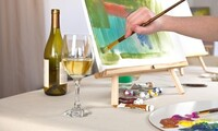 Sip, Paint, and See Party for One or Two at Center Stage Gallery (Up to 33% Off)