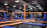 Jump Passes or Jump Party at Sky Zone - Lexington (Up to 42% Off). Eight Options Available.