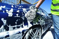 """$29.99 For A Glaze Wax With """"The Works"""" Car Wash Package Included (Reg. $59.99)"""