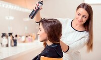 Shampoo, Trim, Keratin Treatment at Blessed Hands and Things Hair Salon (Up to 51% Off). 3 Options Available.