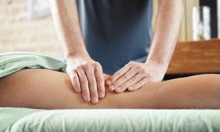 $36 for a Full-Body Massage Package with Organic Massage Oil and Milk Salt Footbath ($70 Value)