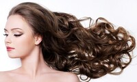 Cut, Style, and Deep-Conditioning Treatment with Optional Partial Highlights at Bella Hair Salon (Up to 63% Off)