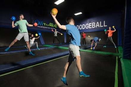 Jump Pass and Attractions or Party at Off The Wall Trampoline Fun Center (Up to 50% Off). Four Options Available