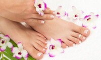 Gel Manicure with Optional Previous Gel Removal at Goshia's Hair and Nail Designs (Up to 50% Off)