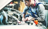 Oil Change, Carfax Report, Wheel Alignment, Inspection at Victory Auto Mall (Up to 50% Off). 4 Options Available