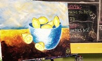 Two-Hour BYOB Canvas-Painting Class at Wine & Design (Up to 44% Off)