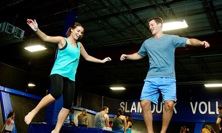 Attractions at Off The Wall Trampoline Fun Center (Up to 46% Off). Three Options Available.