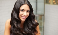 Package with Single-Process Color or Partial or Full Highlights at Exsalonce Salon & Day Spa (Up to 27% Off)