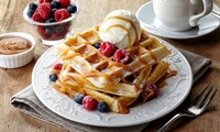 Waffles, Crepes, and Sandwiches at Waffleworks (Up to 33% Off). Two Options Available.