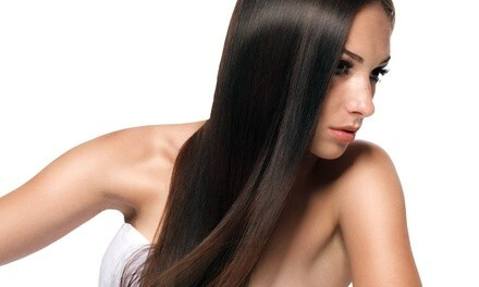 Full Highlights and Blow Out or Hair-Service Package at Nails on First and Hair 2 (Up to 58% Off)